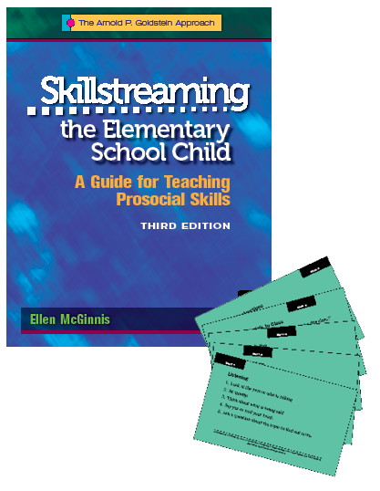 Skillstreaming the Elementary School Child: A Guide for Teaching Prosocial Skills (Set of Program Book and Skill Cards)