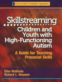 Skillstreaming Children and Youth with High-Functioning Autism (cover)
